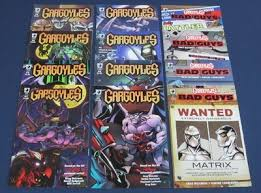 GARGOYLES #1 2 3 4 5 6 7 8 + BAD GUYS #1 2 3 4 : GREG WEISMAN : SLG  PUBLISHING   #435450816