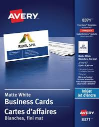 Avery Templates Business Cards 8371 Avery Perforated Business Cards Walmart Canada