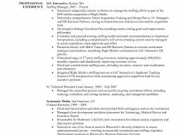 Recruiter Resume Example Examples Of Resumes