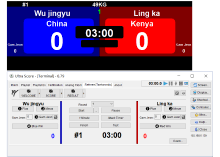 Taekwondo Bout Chart Software Taekwondo Scoring System Kazo Vision