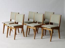Jens Risom Side Chair American 666 Usp Dining Chairs By Jens Risom For Knoll 1950s Set