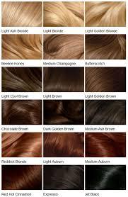 Red Hair To Brown Hair Colour Chart Hair Colour Shades In 2019 Clairol Hair Color Hair Color