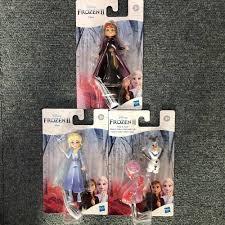Hasbro Mini Công Chúa Frozen 2 Alsa Anna Olaf Gale Búp Bê Đồ Chơi Nhân Vật  Hành Động Bộ Sưu Tập Cho Trẻ Em Bé Trai Bé Gái null