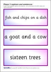 Letter q worksheets sb448 sparklebox. Phase 3 Caption And Sentence Cards Sb977 Sparklebox Printable Teaching Resources Phonics Literacy Resource