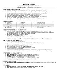 Tech Resume Best Maintenance Tech Resume Tech Resume Technician Maintenance And