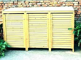 garbage can storage banner garbage storage bin outdoor garbage bin storage plans garbage