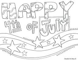 4th Of July Coloring Pages Toddlers Free For Printable A Page Blog