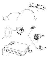 2010 chrysler 300 receiver modules keys key fobs diagram i2234568