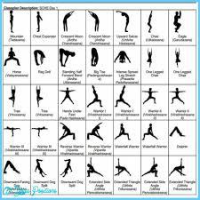Basic Yoga Poses Chart Yoga Poses Chart For Beginners Www Bedowntowndaytona Com