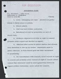 m da v arizona exhibit law library of congress 419 misc 1965 term m da v arizona circa 1965 william o douglas papers manuscript division library of congress full text pdf 1mb