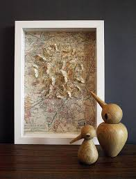 wooden stained vintage maps wall art italy design cool expensive worldmap decorations contemporary white wood frame
