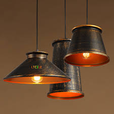 copper lighting fixtures. Edison Vintage Pendant Lights For Kitchens Dining Room Light Fixtures Lamparas Colgantes Copper Lamp E27-in From Lighting N