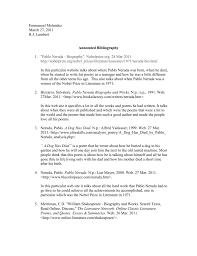 emmanuel melendez annotated bibliography