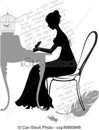 女の子 書く 手紙