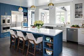 15 Gorgeous Dark Blue Kitchen Designs You Ll Want To Re Create