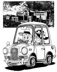 鳥山明のかっこいい乗り物イラスト画像集 Naver まとめ Dragon Ball