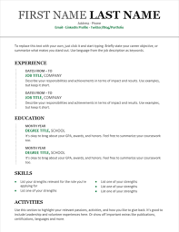 Chronological Resume Templates Stunning Resume Chronological Template Chronological Resume Modern Design