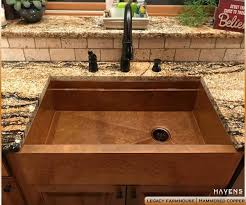 hammered copper farmhouse sink. Hammered Copper Farmhouse Sink