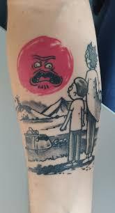 татуировка рик и морти
