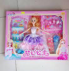 đồ chơi búp bê cho bé gái
