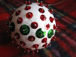 How To Decorate Styrofoam Balls Christmas Decorations Using Polystyrene Balls The Best 74