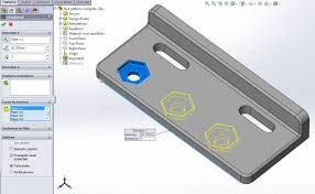 Linear Pattern Solidworks