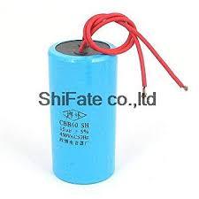 AC <b>450V 15UF</b> 50Hz <b>CBB60</b> Cylinder Motor Running Capacitor ...