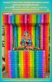 homemade ganpati decoration ideas ganpati tv