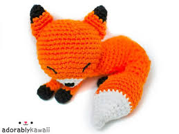 Crochet Fox Pattern Adorable Sleepy Fox Amigurumi Crochet Pattern