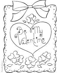 Small Picture Happy Valentine Coloring Page 017