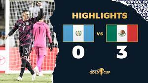 Guatemala 0-3 Mexico Gold Cup 2021 ...