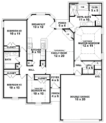 four bedroom one story house plans photo 2 4 nz full size