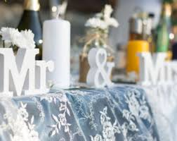 wedding centerpieces etsy Wedding Decorations Etsy mr and mrs sign wedding table decoration mr and mrs set letter sign sweetheart table photo etsy rustic wedding decorations