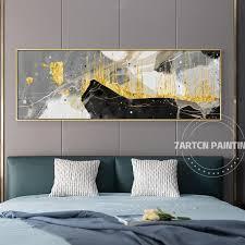 original black white gold art modern