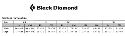 Black Diamond Momentum Harness Size Chart Black Diamond Mens Momentum Climbing Harness S18 Slate