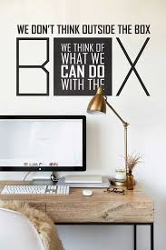 office wall stickers. Wall Decal, Stickers , Quotes Office Decal Quote Decal 009 Office Wall Stickers