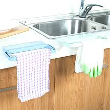 dish towel holder kitchen rack for the limited space with regard to idea adhesive