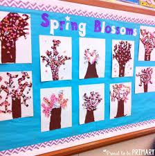 spring themed activities for the clroom cherry blossoms