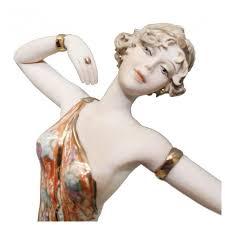 Cтатуэтка фарфоровая Vittorio Sabadin «Девушка в ... - ROZETKA
