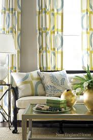 new england home han hiltz chic yellow gray blue living room gray