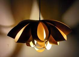 picture of giant decorative bow paper pendant lamp