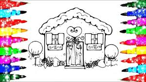 House Drawing And Coloring For Kids L Disney Brilliant Coloring