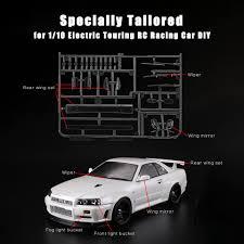 48647 Led Light Bucket Rc Car Decoration Kit For Nissanskyline R34 1 10 Electric Touring Rc Racing Car Diy