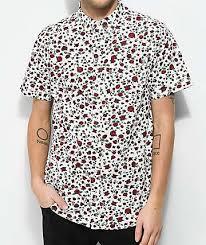 Patterned Button Up Shirts Unique Mens Button Up Shirts Zumiez