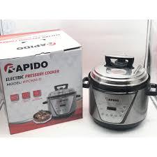 Nồi Áp Suất Điện Đa Năng Rapido RPC900-D 5.0L - Bảo Hành 12 Tháng