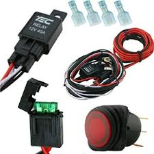 cheap kc offroad lights kc offroad lights deals on line at get quotations · 1 autohass lighting 40 amp universal wiring harness comes 40 relay illuminated on