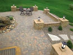 simple patio designs with pavers. Simple Pavers Designs For Patio Ideas With And Hot Tub | Paver L