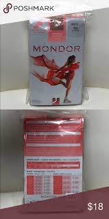 Nwt Mondor Ladies Xxl Footed Tights New In Package Mondor I