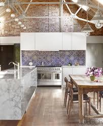 Mirror Tile Backsplash Kitchen Antique Mirror Mercury Glass Glam Interior Design Trend