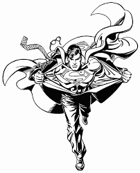 Small Picture Superman Coloring Pages For Print Super Heroes Coloring pages of